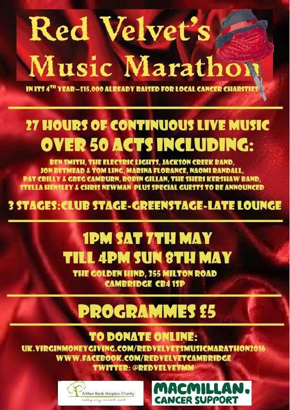 Cambridge Music Marathon 07052016