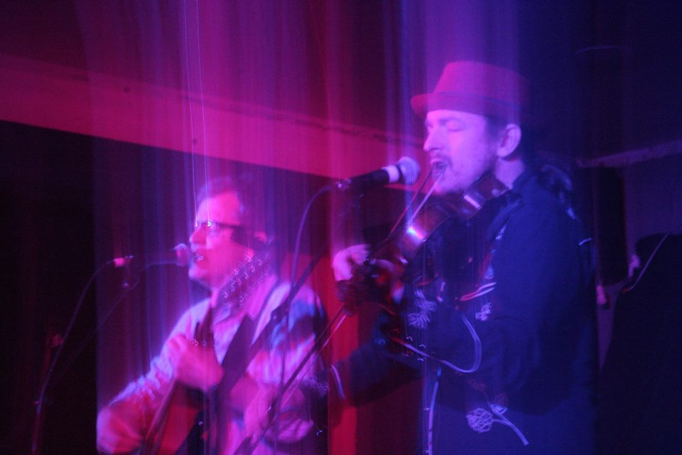 Ian Roland and Simon Yapp at Steyning Live Lounge April 2016