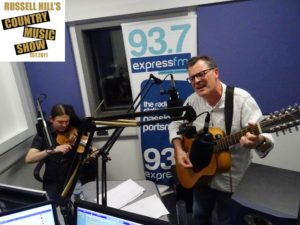 Russell Hill's Country Radio Show Express FM, Portsmouth - August 2017
