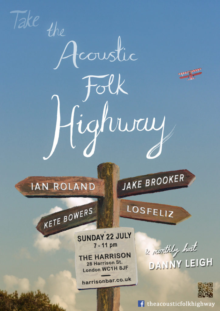 Acoustic Folk Highway at The Harrison  22nd July 2018