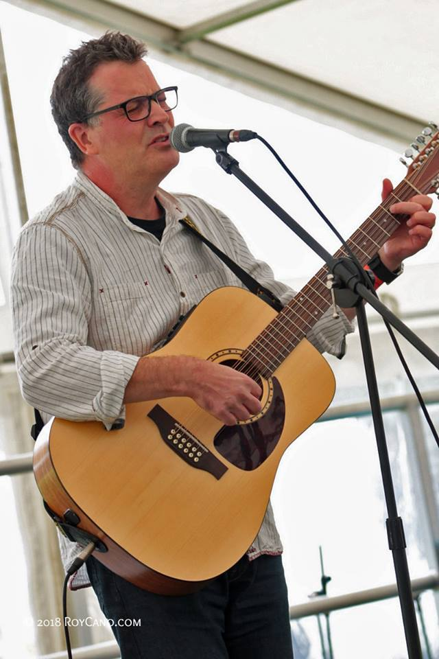 Ian Roland - Big Green Cardigan Festival - Sept 2018 - Photo by Roy Cano