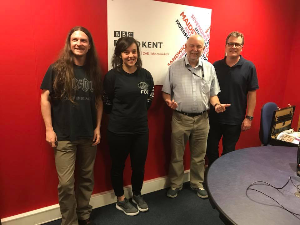Simon, Brione, Doug Welch, Ian at Radio BBC Kent 02092018