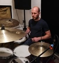 Nick VanVlanderan drums recording May 2019