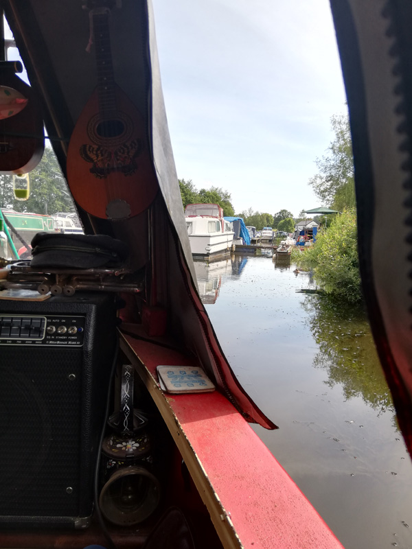 Ian Roland & The Subtown Set - The Narrowboat Sessions at Chirk Marina, Wales - 4th July 2019.
