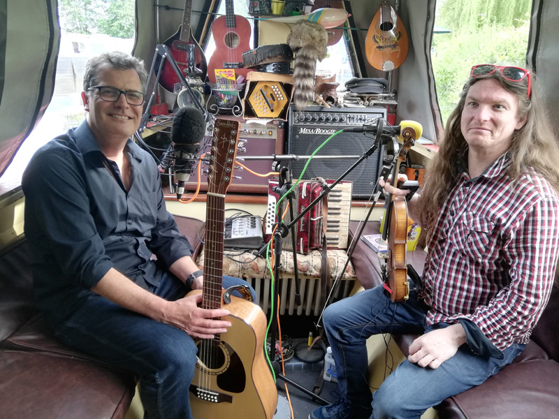 Good times... playing new track 'In The Darkness' (due out Sept 2019), and 'The Valley' and 'Hope' for The Narrowboat Sessions at Chirk Marina, Wales yesterday (4th July 2019). Thank you Mark Holdsworth for inviting us on board and making us feel so welcome.