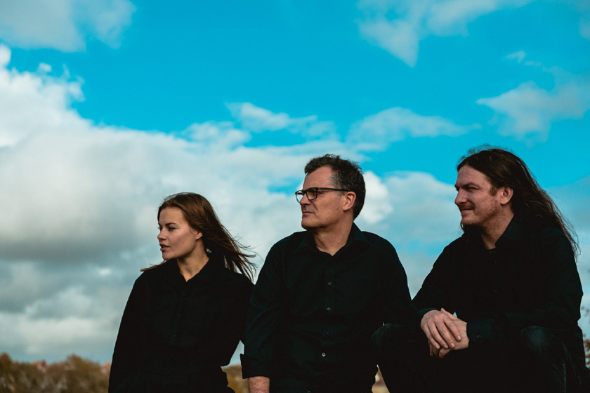Ian Roland & The Subtown Set - (left to right) Jade Woodhouse, Ian Roland, Simon Yapp