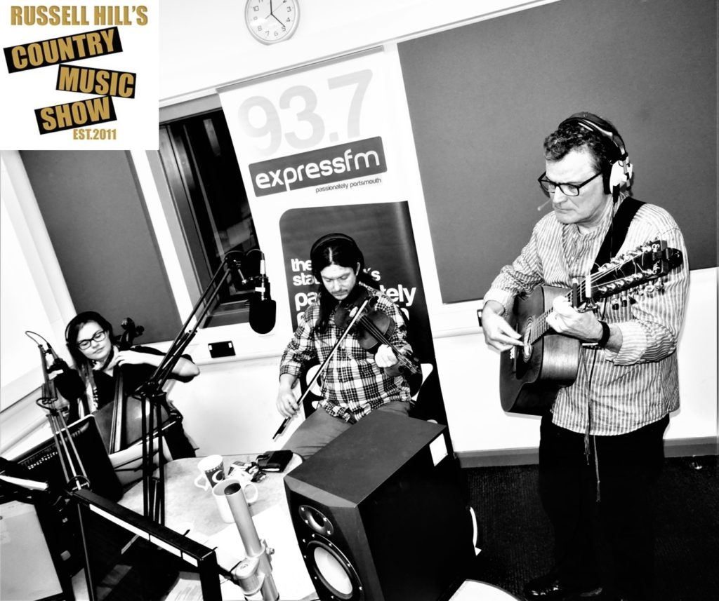Ian Roland & The Subtown Set - live radio session for Russell Hill's Country Music Show on Portsmouth's Express FM 93.7