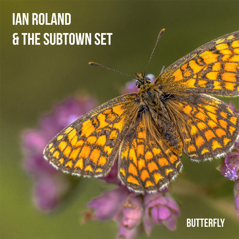 'Butterfly' - single release - ian Roland & The Subtown Set