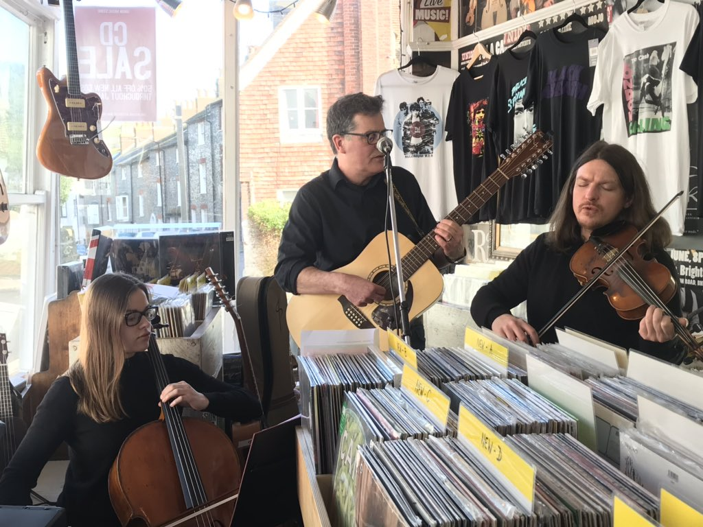 Ian Roland & The Subtown Set - Union Music Store, Lewes- In-store 29 Feb 2020